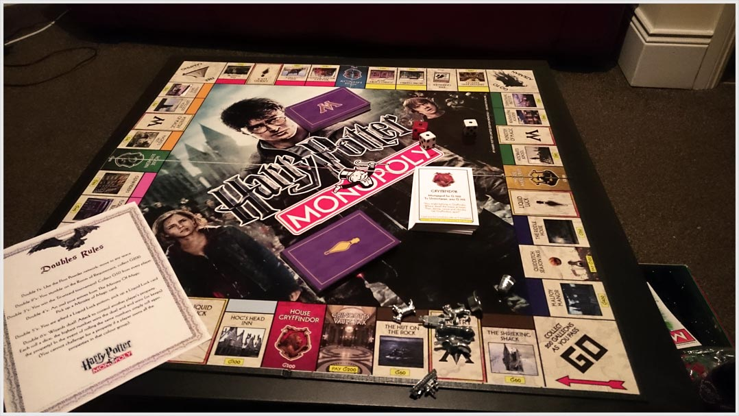 Monopoly Harry Potter